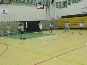 Staff v students soccer 025