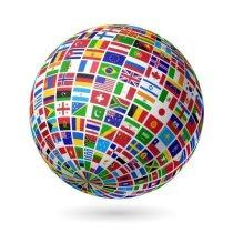 15017435-flags-globe