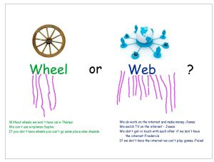 wheel or web