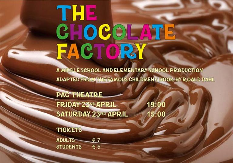 The Chocolate Factory Poster small