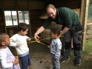 opening of our mud kitchen (5)